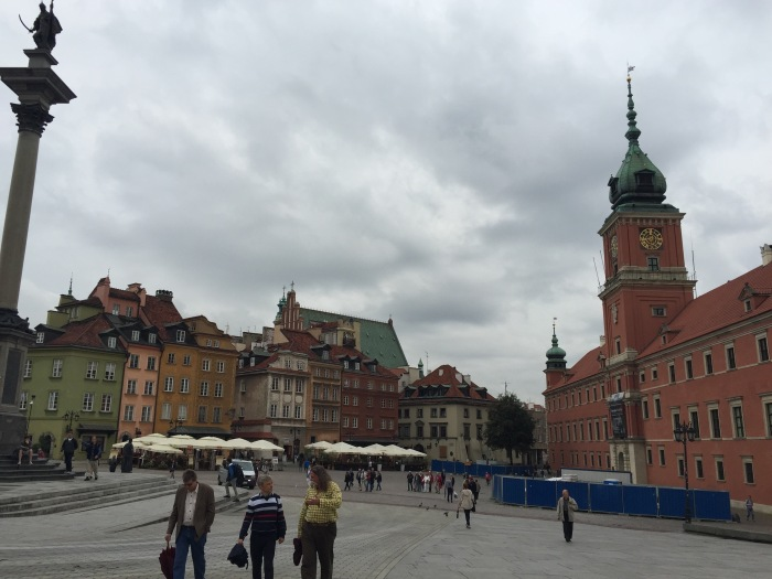 Warsaw city square