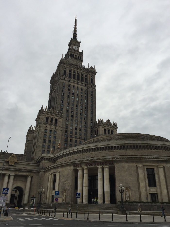 Building of culture - donated by Stalin