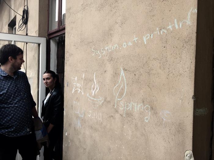Java street art