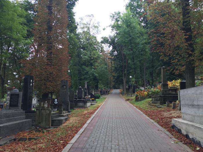 A truly massive cemetery