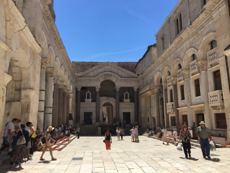 The Palace of Diocletian, Emperor of Rome