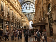 And this is Milan - which has a really really nice shopping mall